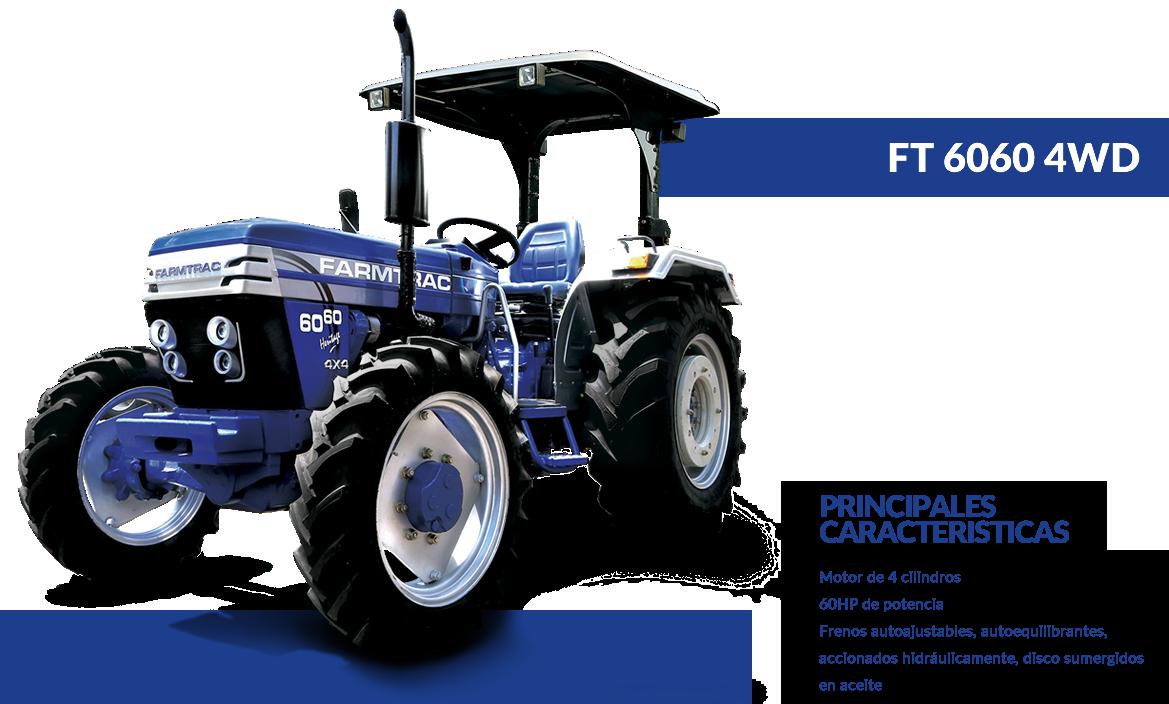 Tractor 6060 4WD - FARMTRAC - ArgentinaFARMTRAC – Argentina